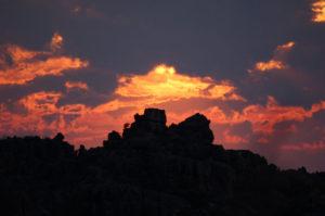 Закаты в ЮАР – это нечто особенное, как впрочем и ярко-синее африканское небо, которым мы восхищались каждый день нашего пребывания здесь.