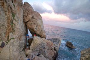 Скалы Cala Gonone.
