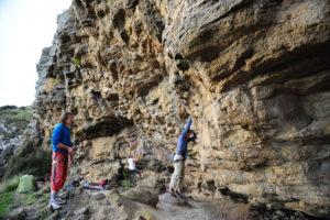 Скальный район Britten Crags.