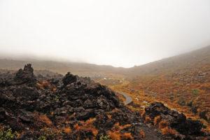"""Национальный парк Tongariro и знаменитый горный трекинг особенно популярны стали после выхода в свет """"Властелина колец""""."""
