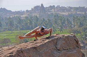 Хатха-йога на природе.
