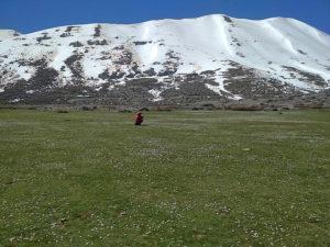 Обратно к машине возвращались по плато. Место - СКАЗКА!