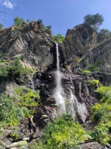 Баритовый водопад. 2 часа ходьбы от Архыза.