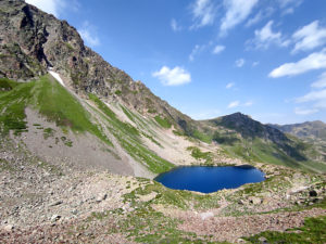 Архыз. Озеро Семицветное.