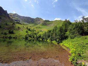 Архыз. Озеро любви.