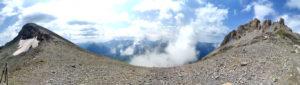 Перевал имени известного писателя, геодезиста Г. А. Федосеева. Высота 2900. Категория 1А.